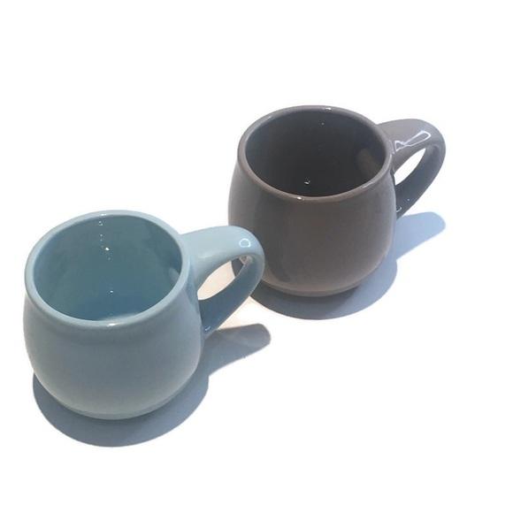 Starbucks Mugs, (a pair) 16oz, blue and grey